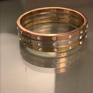 Late spade bracelet set